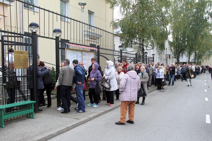 Выборы депутатов российской Госдумы: без неожиданностей