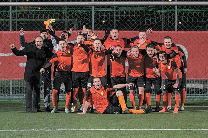 Футболисты Narva United завершили сезон двумя громкими победами
