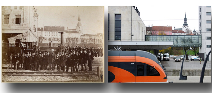 146 лет назад в Эстонии началось пассажирское  ж/д сообщение