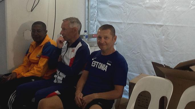 Валерий Федюшин, удачно представивший Эстонию в Австралии