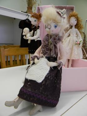 Авторская кукла, с которой хочется играть