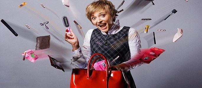 Чего нет в женской сумочке?