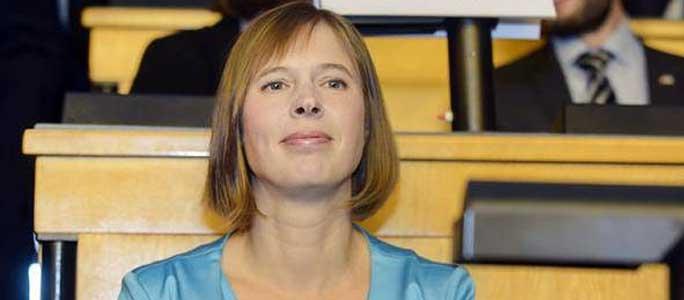Президент Эстонии высказалась за санкции в отношении России