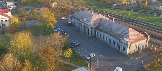 Видео. «Неизвестная Нарва» расскажет о железнодорожном вокзале