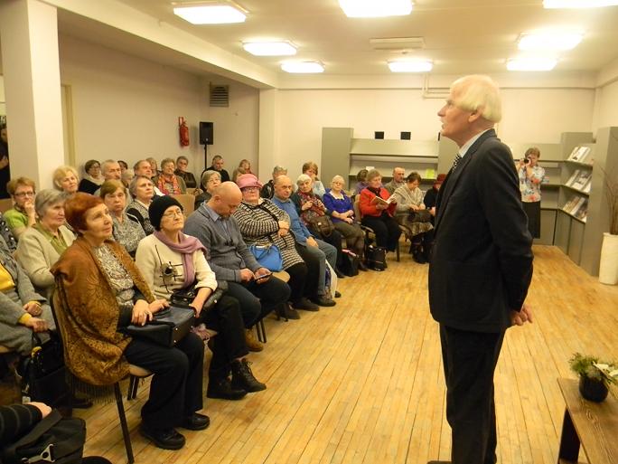 Нарвские читатели – Юри Кускемаа: «Вы – наше национальное достояние!