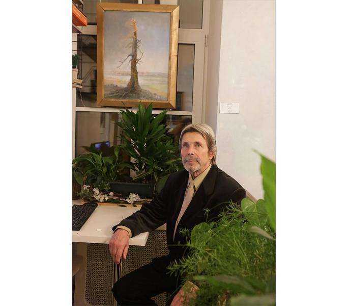 Юло Сарапуу рассказал, почему его картины лечат