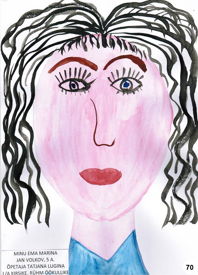 Первая сотня работ конкурса «Нарисованная мама»