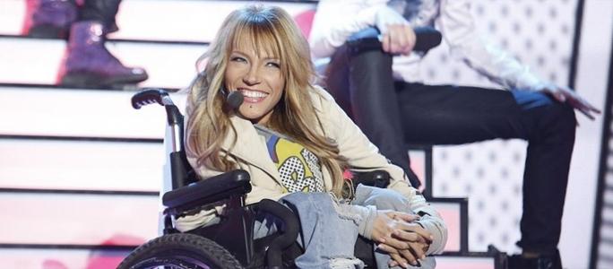 Россию  представит певица в инвалидном кресле
