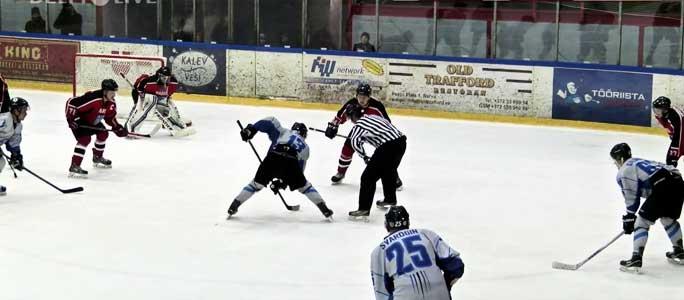 Нарвитяне выиграли чемпионат Эстонии по хоккею!