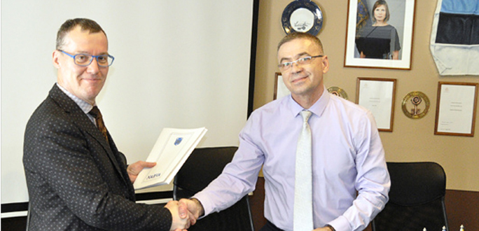 Город заключил договор о сотрудничестве с Narva Unity