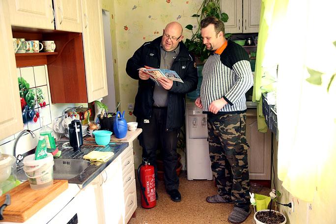 Спасатели провели консультирование в более, чем тысяче домохозяйств Кохтла-Ярве и Нарвы
