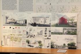 +Галерея. Разрушенные дома превратятся в валуны на Стокгольмской площади
