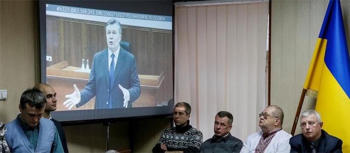 В Киеве начинается суд над Виктором Януковичем