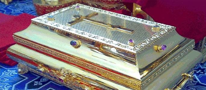 В Нарву прибывает ковчег с мощами св. Новомучеников Церкви Русской