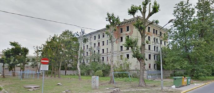 Горожане планируют сделать безопасным нарвское здание-призрак