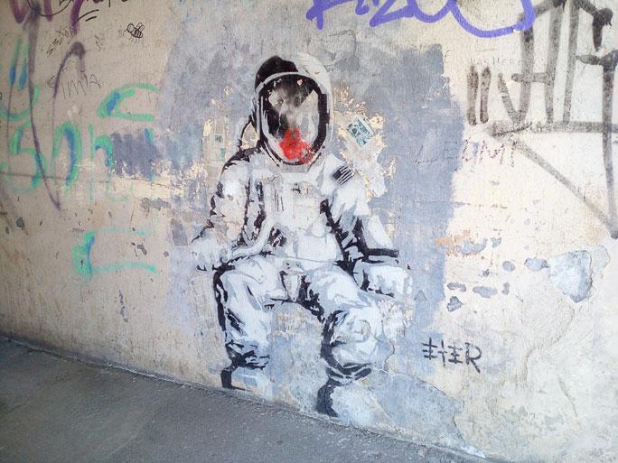 Граффити как образец искусства