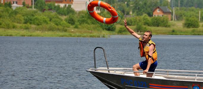Спасательный департамент начинает кампанию «Жилет спасет в воде»