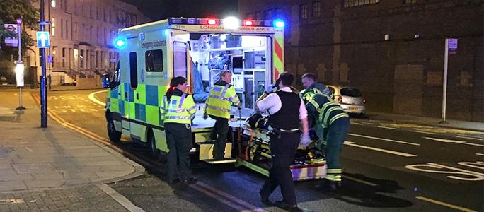 Видео. Один человек погиб в результате инцидента в Лондоне