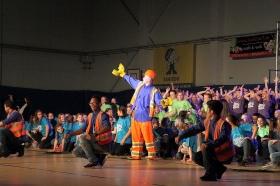 """+Галерея. """"Молодые американцы"""" поставили мюзикл с участием школьников из Эстонии и России"""
