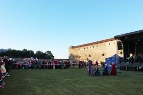 Галерея. В Нарвском замке празднуют Янову ночь