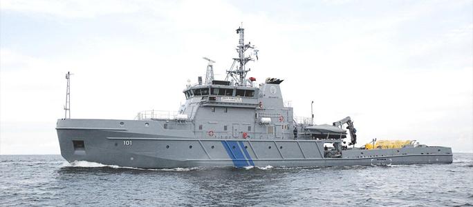 Эстония  участвует в трехсторонних учениях по спасению на море