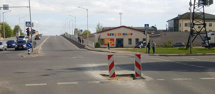 Дорожные знаки в Нарве никто не контролирует