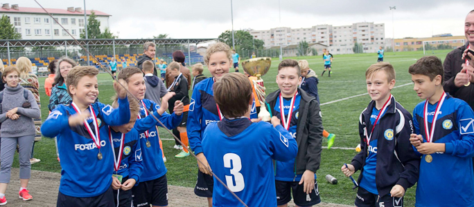 Команда Нарва Транс 2005 завоевала ESTONIA SUMMER CUP 2017