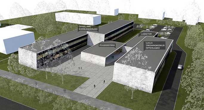 Архитекторы начинают работу над эскизом колледжа Академии в Нарве