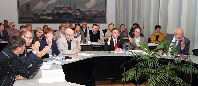 Обращение к кандидатам в депутаты нарвского городского собрания от Центристкой партии