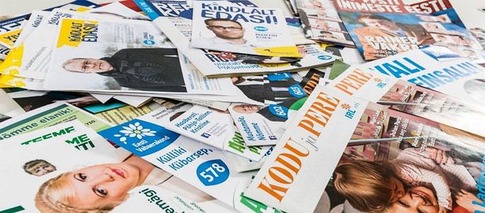 В Эстонии вступил в силу запрет на внешнюю предвыборную рекламу