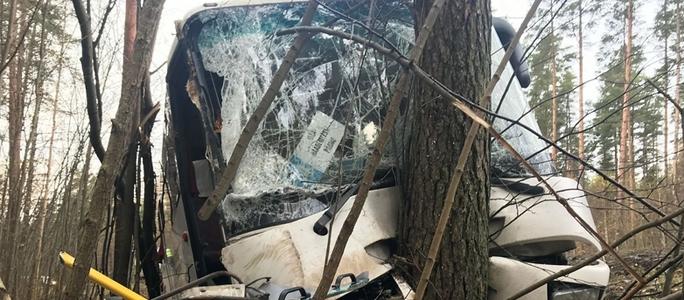 В районе Уулу произошла тяжелая авария с рейсовым автобусом