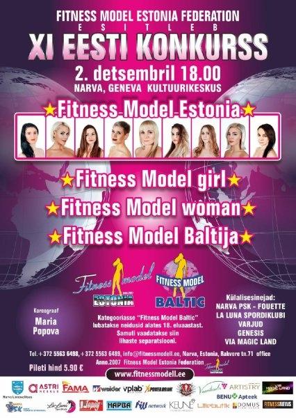 Fitness Model Estonia
