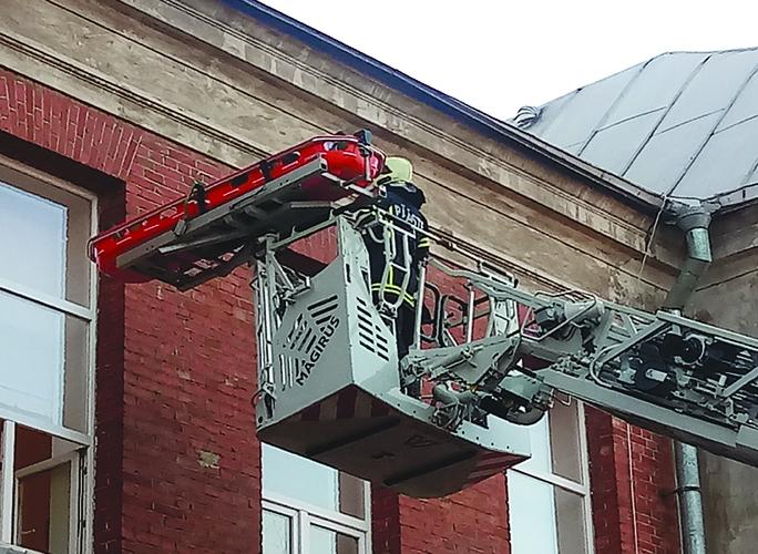 Пожар в больнице - что это было и зачем