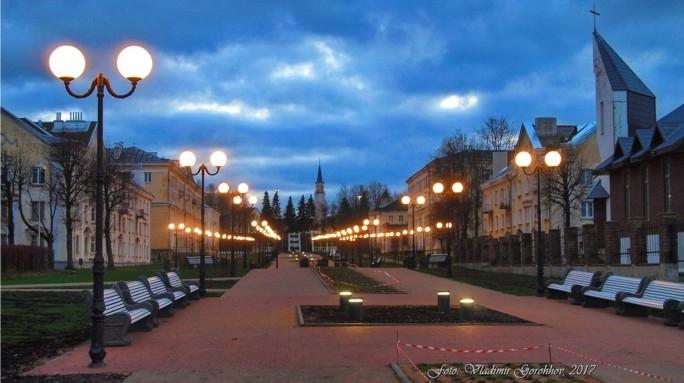 В Силламяэ будет вновь открыт бульвар Мере