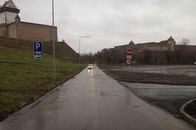 Пустошь на Йоарге для парковки не предназначена