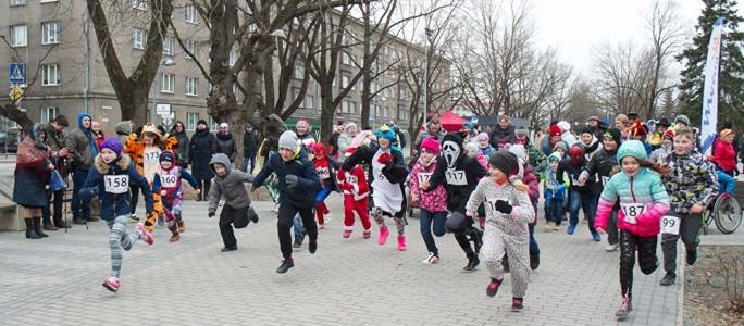 Благотворительный рождественский забег 2017