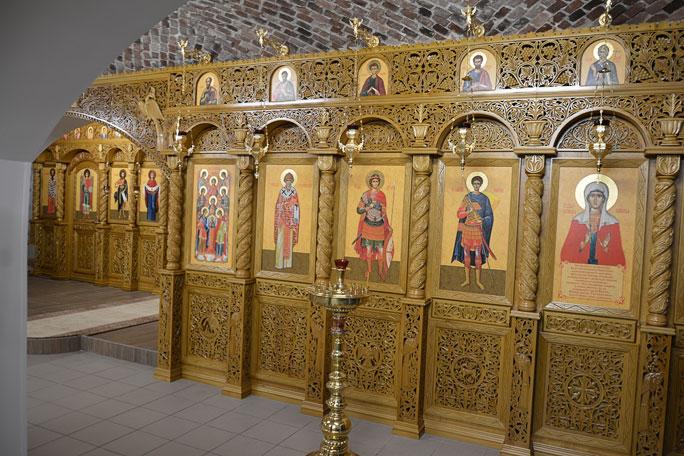 Нижний храм Воскресенского кафедрального собора преобразился