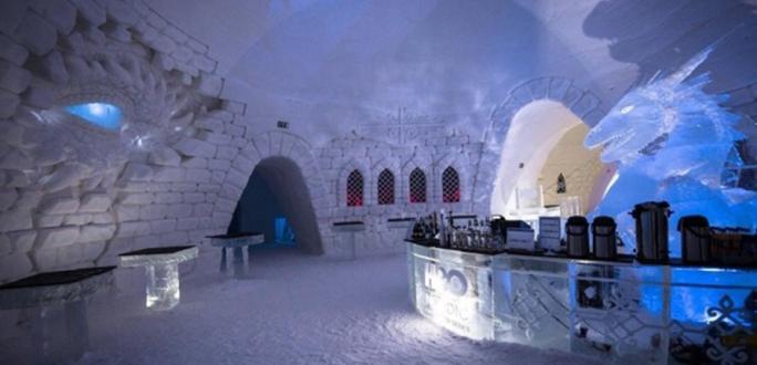"""В Лапландии построили отель для поклонников """"Игры престолов"""""""