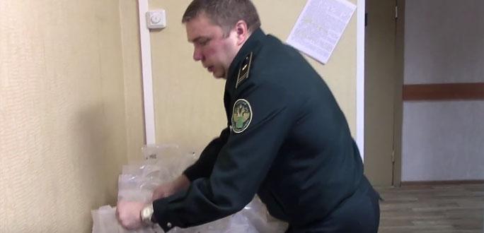 +Видео. В Ивангороде у мужчины изъяли 1,5 тонны памятных монет