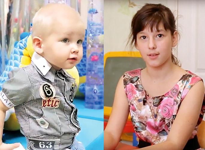 Юлия Савичева взяла под опеку из детского дома двух детей