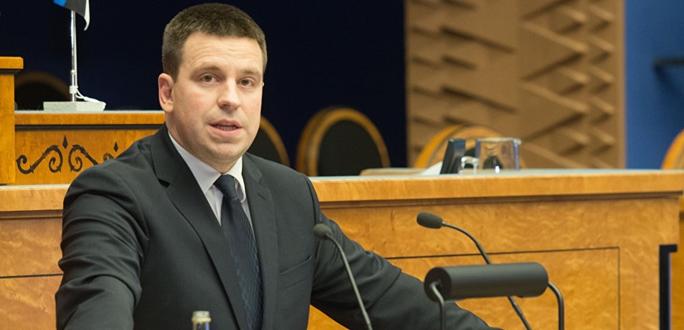 Премьер-министр Эстонии потребовал от властей Украины удалить Эстонию из списка оффшорных зон