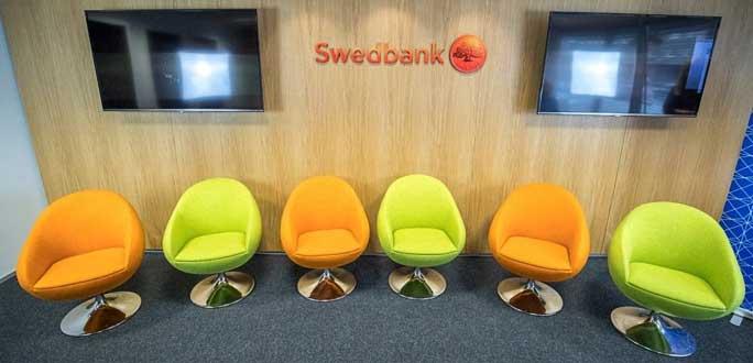 Swedbank прекращает выдачу новых карточек паролей