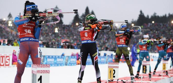 Команда нарвских биатлонистов стала серебряным призером