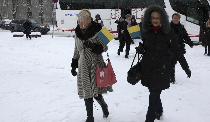 Галерея. Президент Керсти Кальюлайд приехала  в Нарву