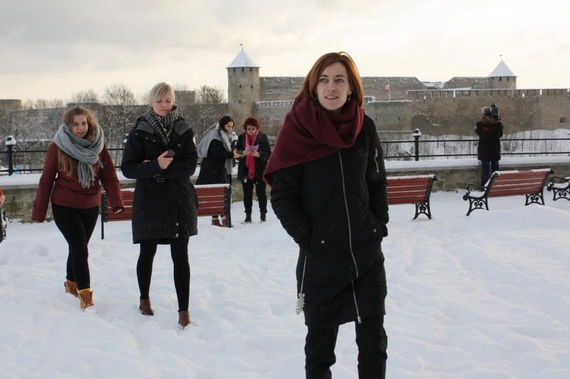 Галерея. Гости из Таллинна познакомились с Нарвой