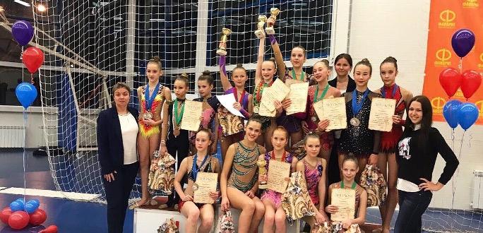 Нарвские гимнастки в России: убедительный командный успех