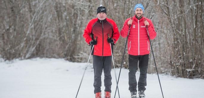 Семья биатлонистов из Нарвы: первый раз мы поставили Вову на лыжи, надев ботинки на валенки