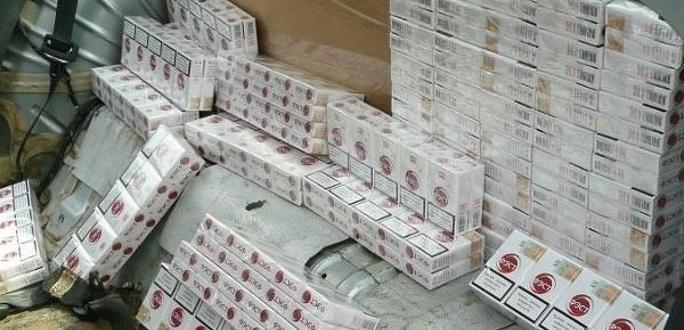 Таможенники обнаружили в грузовике 4,5 млн контрабандных сигарет