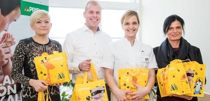 Prisma преподнесет подарок каждому ребенку, родившемуся в год юбилея Эстонской Республики