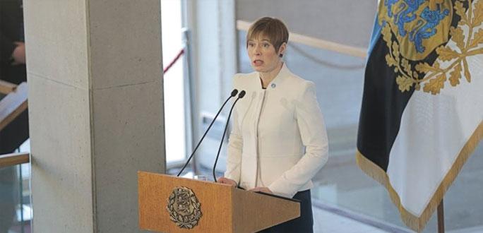 Президент Кальюлайд вручила в Нарве 166 госнаград